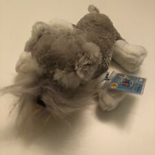 New With Sealed And Unused Code Webkinz Schnauzer Ganz Plush Toy Stuffed Animal