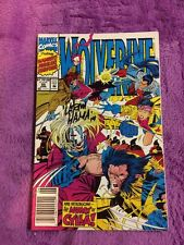 wolverine 55 artist signed larry hama marvel comics x-men coa lot run set movie