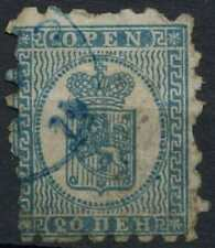 Finland 1866, 20p Blue/Blue Used #D96746