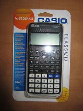 CALCULADORA CIENTIFICA CASIO FX-570SP X II 576 FUNCIONES