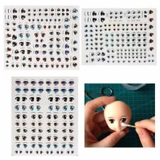 Cartoon Eyes Anime Figurine Dolls Eye Water Stickers For DIY Doll Accessories