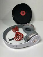 Beats by Dr. Dre Solo HD Headband Headphones - White with case