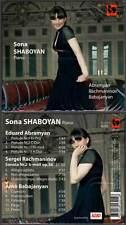 """SONA SHABOYAN """"Piano"""" (CD Digipack) Abramyan-Rachmaninov-Babajanyan 2010 NEUF"""