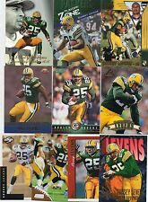 10-dorsey levens all green bay packers card lot nice mix