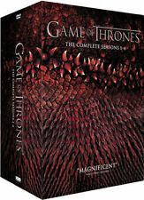 Game of Thrones Complete Season 1 2 3 4 DVD BOXSET 20 Discs R4 1-4