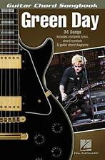 Green Day Guitar Chord Songbook by Green Day, NEW Book, FREE & , (P