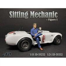 American Diorama 38232 Sitting Mechanic Sitzender Mechaniker 1:18 Figur 1/1000