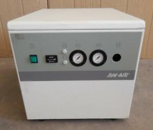 JUN-AIR MODEL OF312-4M  Oil-less Rocking Piston Air Compressor (#3325)