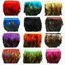 """Wholesale 1-10 yards Beautiful 12-18cm/5-7"""" Rooster Tail  Feather Cloth Trim DIY"""