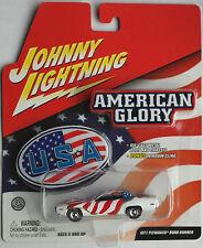 "Johnny Lightning - ´71 / 1971 Plymouth Road Runner weiß ""American Glory"" Neu/OVP"