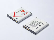 Two Pack For Sony N Type NP-BN1 NPBN1 Rechargeable Battery High Quality
