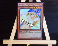 Dark Magician girl v8 YUGIOH HOLO orica proxy sexy NSFW custom card