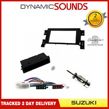 Car Stereo Single Din Fascia ISO Aerial Kit for Suzuki Grand Vitara 2005 On