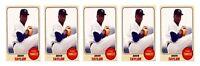 (5) 1993 Sports Cards #55 Brien Taylor Baseball Card Lot New York Yankees