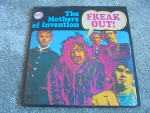 The Mothers Of Invention - Freak Out! 1971 UK DOUBLE LP VERVE FRANK ZAPPA