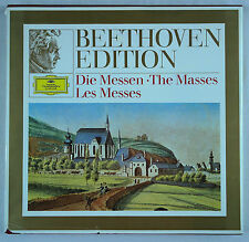 Beethoven Edition - The Masses/Karajan & Richter-DG 3LP Box Set 2720 013 EX