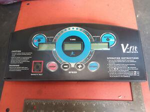 V-fit treadmill console 2005 1310W21EG5 SDK089  CB08VF96