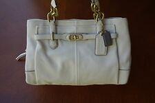 Authentic COACH Ivory White Chelsea Jayden Leather Handbag Purse | E1173 17811