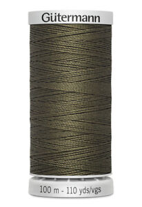 Guttermann Polyester Thread: 100m and 250m. Various Colours.