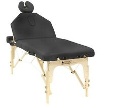 Custom Craftworks Destiny Lift Back Portable Masseuse Massage Table
