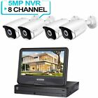 5MP POE Security Camera Surveillance System with 10 inch LCD Monitor 8CH NVR picture