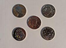 Lot 5 Mini Médailles Monnaie de Paris Harry Potter 2021 - L08 Neville Londubat
