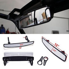 "15""x2.5"" Polaris RZR800 XP900 XP1000 UTV Wide Rear View Race Mirror &1.75"" Clamp"