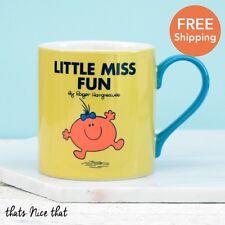 Little Miss Diversión China Taza Regalo Para Ella Diversión Taza De Café Té Cumpleaños SR. hombres amarillo
