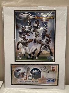 2004 Philadelphia Eagles Matted Photo NFL Superbowl Champions