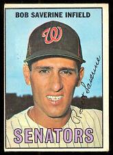 1967 TOPPS OPC O PEE CHEE BASEBALL #27 Bob Saverine VG-EX Washington Senators