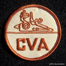 """CVA EMBROIDERED SEW ON PATCH BLACK POWDER SPORTS HUNTING ADVERTISING 3"""""""