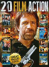 20 Film Action - In Too Deep, Supercop, Logans War, Zero.. (DVD, 4-Disc) - D0212