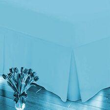 1 pièces Valance Silentnight 155 x 200 x 40 bleu anti allergique draps NEUF