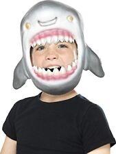 Shark Full Head Mask, Grey, Eva Foam