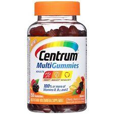 Centrum Adults MultiGummies Multivitamin/Multimineral Supplement 70 count