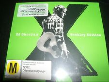 Ed Sheeran X (Australian) Deluxe CD DVD Live At Wembley Edition - New