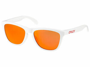 Oakley Frogskins Sunglasses OO9245-7654 Polished White/Prizm Ruby Asian