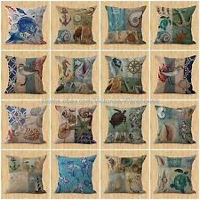 lot of 15 wholesale cushion covers ocean underwater animal fish dolphin pillows