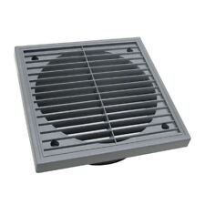 Large Grey Extractor Louvre Air Vent 6 Inch Duct Grille 150mm Wall Fan Outlet