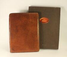 The Bridge Office Portfolio Planner Organizer Notebook Genuine Italian Leather