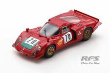 Alfa Romeo T33/2 Ignazio Giunti Vainqueur Ronde Cevenole 1969 1:43 Spark SF 175