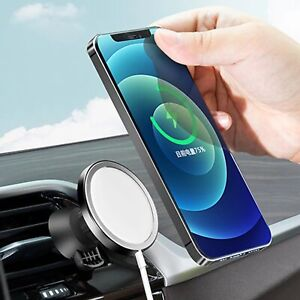 For iPhone 12 Pro Max Magsafe Wireless Charging Acces Car Phone Holder Mount