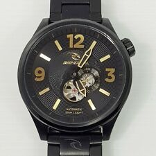 RIPCURL Titan XL Midnight (Black) SSS Automatic 50mm Watch A2597 - Aus Seller