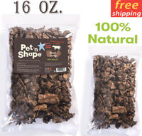 Pet 'n Shape Beef Lung Dog Treats - All Natural Healthy Treat, Bites, 1 Lb