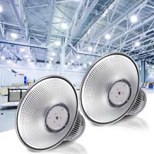 """DELight® 2PCS 150W 18"""" LED High Bay Light 16000lm Bright White Factory Industry"""