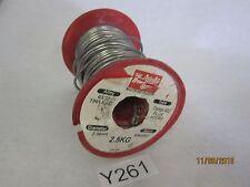 63/37 Tin/Lead Crystal 502 Flux 2.34mm Diameter Soldering Solder Wire 2kg Spool