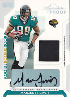 2006 Playoff NFL Signature Proofs Silver #100 Marcedes Lewis Auto Jersey #/100