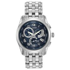 Citizen Men's Calibre Chronograph Blue Dial Bracelet 39mm Watch BL8000-54L