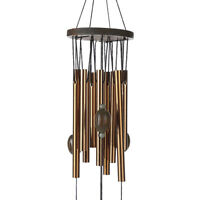 62cm Carillon Outdoor Living Yard Wind Chimes Garden 9 Tubes Bells