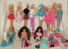 Huge Lot - 1990's Barbie / Skipper Pet Doctor, Workout, Phone Fun, Olympic, Hair